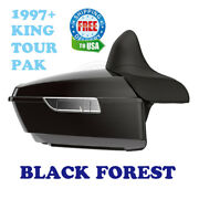 Black Forest King Tour Pack Pak For 97-20 Harley Street Road Electra Touring