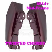 Twisted Cherry Mid-frame Air Deflector For 09-16 Harley Street Road Touring