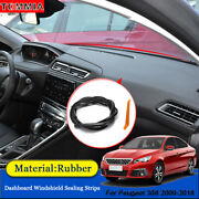 Dust Proof Anti-noise Car Dashboard Windshield Sealing Strips For Peugeot 308