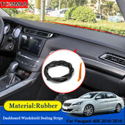 Dust Proof Anti-noise Car Dashboard Windshield Sealing Strips For Peugeot 408