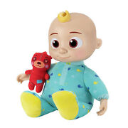 Cocomelon Musical Bedtime Jj Doll With Plush Tummy And Roto Head | New In Box
