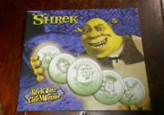 Shrek 5 Tokens In Folder With Stickers