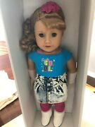 American Girl 18 Doll Courtney Moore And Book With Bonus Poster Nrfb Nib New