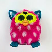 Furby Boom Hasbro Pink With White Polka Dots 2012 Tested Works