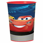 Disney Cars 3 Plastic Reusable Favor Cup 8 Count Birthday Party Supplies