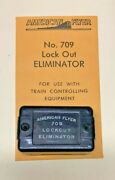 American Flyer 709 Lock-out Eliminator Controller W Instructions {x709}