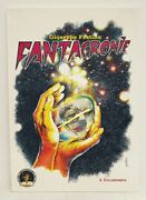 Festino Science Fiction Art Signed Limited To Mike Resnick Italian Text