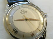 Vintage Gubelin Ipso Matic 25 Jewel Automatic Stainless Steel Wristwatch Watch