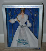2003 Special Edition Winter Fantasy First In The Series Holiday Visions Barbie
