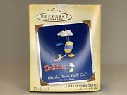 """2005 Hallmark Keepsake Ornament """"oh The Places You'll Go"""" Pre-owned"""