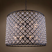 Gatsby Luminaires 701676-001 12 Light 35.5 Grey Iron Clear Glass Chandelier And