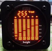 Insight Gem 610 Graphic Engine Monitor With Cht Egt Tit Oat Graphic Display