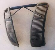 1940 Ford Deluxe Grille Vent Panels Brace - All Original