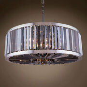 Gatsby Luminaires 701861-005 10 Light 35 Smoke Crystal Polished Nickel