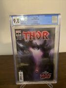 Thor 4 2nd Print Cgc 9.8 1st Cameo Appearance Black Winter