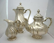 The Core Of Tea Coffee Silver About 1900
