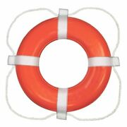 Taylor Made Foam Ring Buoy - 24 - Orange With White Rope