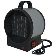 King Utility Heater Space Gray Portable Rugged Metal Case Power Indicator Light
