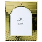 Versace By Rosenthal Germany Vhf5 Gold Picture Frame 7 X 9 1/2 Inch