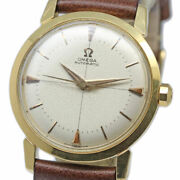 Omega No Name 2866sc Cal.501 Automatic Vintage Watch 1950and039s Overhauled