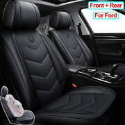 Pu Leather Car Seat Cover Set Car Accessories Fit For Ford Escape Focus