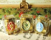 Victorian Trading Co Nwot 3 Christmas Cameo Carols Music Boxes New 1c