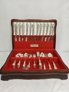 79 Piece Rogers And Bros Southern Splendor Silverplate 1962 Discontinued Set