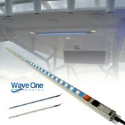 Wave One Marine | T-top Led Courtesy Boat Light 24 | Dual Color | White And Blue