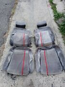 Vw Volkswagen Mk2 Golf Gti Seat Covers Fabric Oem Front And Rear.