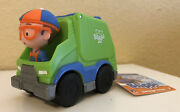 Blippi Mini Vehicle Garbage Truck Recycling Truck - New