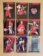 1997 Pinnacle Inaugural Edition Inside Wnba Parallel Court Collection Set 1-81
