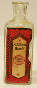Vintage Ginger Ale Extract Cork Top Bottle Montclair Brand With Instructions