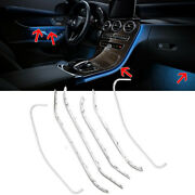 Center Console Door Foot Rgb Led Ambient Light For 20-21 X253 C253 Glc300 43 63