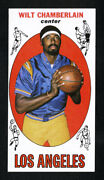1969 Topps 1 Wilt Chamberlain Nm-mt 5050 Centered Tb Pack Fresh Awesome Card