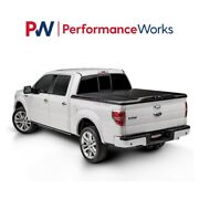 Undercover Elite Black Matte One-piece Tonneau Cover For 14-21 Tundra 5and0396 Bed
