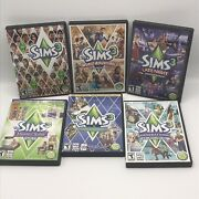 The Sims 3 Game + Expansion Packs Lot Of 6 Pc World Late Night Generations Suite