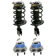 Set Of 4 Shock Absorber And Strut Assemblies Front Left-and-right For Chevy