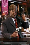 New Hot Toys Mms546 The Dark Knight - Two Face Harvey Dent 1/6 Figure