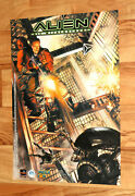 2000 Alien Resurrection / Spider-man Very Rare Vintage Small Poster Ps1 42x30cm