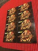 The Hunger Games Catching Fire Subway Gift Card New No Cash Value Lot Of 8