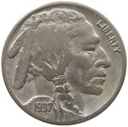 United States Nickel 1937 D A34 741
