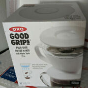 Oxo Good Grips Drip Pour Over Coffee Maker With 12 Oz Water Tank