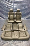 15-19 Dodge Charger Hellcat Srt 6.2l Oem Spa Laguna Leather Front And Rear Seats