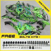 Airbrushed Fairings Bodywork Bolts Screws + Tank Cover For Yamaha Yzfr1 07-08 25
