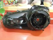 Harley 2007 Fxst/n 96 Twin Cam Black Primary Case Set With Hardware Oem