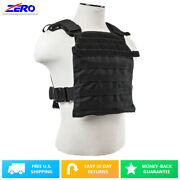 Molle Pals Fast Plate Carrier Vest For 10x12 Plates 1050 Nylon Adjustable