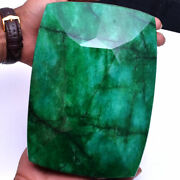 4.50 Kilo+ 22820 Cts Certified Natural Emerald Biggest Museum Size Gemstone