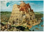 Eurographics The Tower Of Babel By Pieter Brueghel 1000 Piece Puzzle - Used