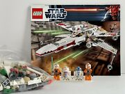 Lego 9493 Star Wars X-wing Starfighter 100 Complete No Box - Retired 2012