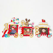Hallmark Ornament Baby's My First Christmas 2012 Photo Frame Years 1, 2, 3 New